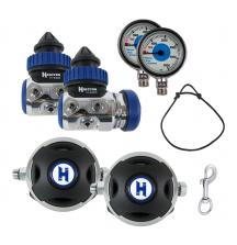Hабор регуляторов Halcyon Sidemount H-50
