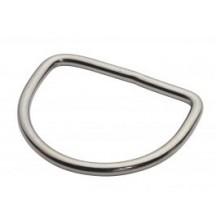 D-Ring OMS 5 cm Сталь, Прямой