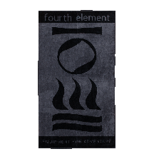 Полотенце Fourth Element Black