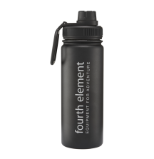 Бутылка-Термос Fourth Element Gulper 500ml Black