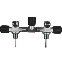 Манифольд BTS с изолирующим вентилем 230 bar для 5,7 и 8,5 л. баллонов (D=140 mm)