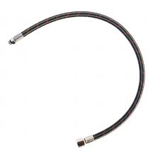 Шланг LP для регулятора гибкий Miflex 100 cm 3/8'' UNF черный с красной полосой