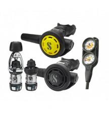 Регулятор Scubapro MK2 + EVO DIN 300 / R095 + октопус R095 + консоль Twin