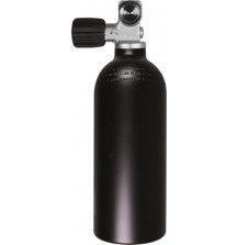 Баллон алюминиевый BTS 1.5 л, 232 Bar, Моно Вентиль O2 Clean