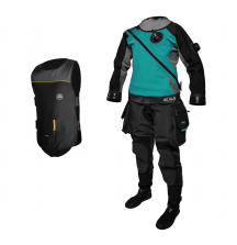 Сухой костюм Santi E.Lite Plus Ladies First + Электрожилет Heated Vest FLEX 2.0 в подарок