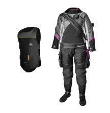 Сухой костюм Santi E.Motion Plus Ladies First +  Электрожилет Heated Vest FLEX 2.0 в подарок